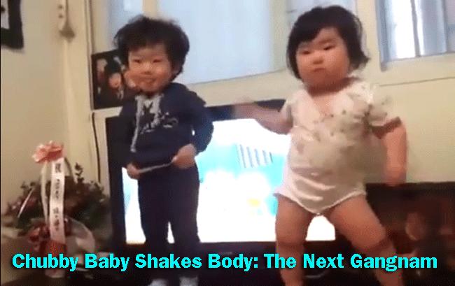 Korean Chubby Baby Shakes Body: The Next Gangnam