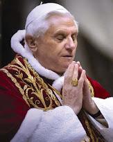 Rezemos pelo PP emérito Bento XVI