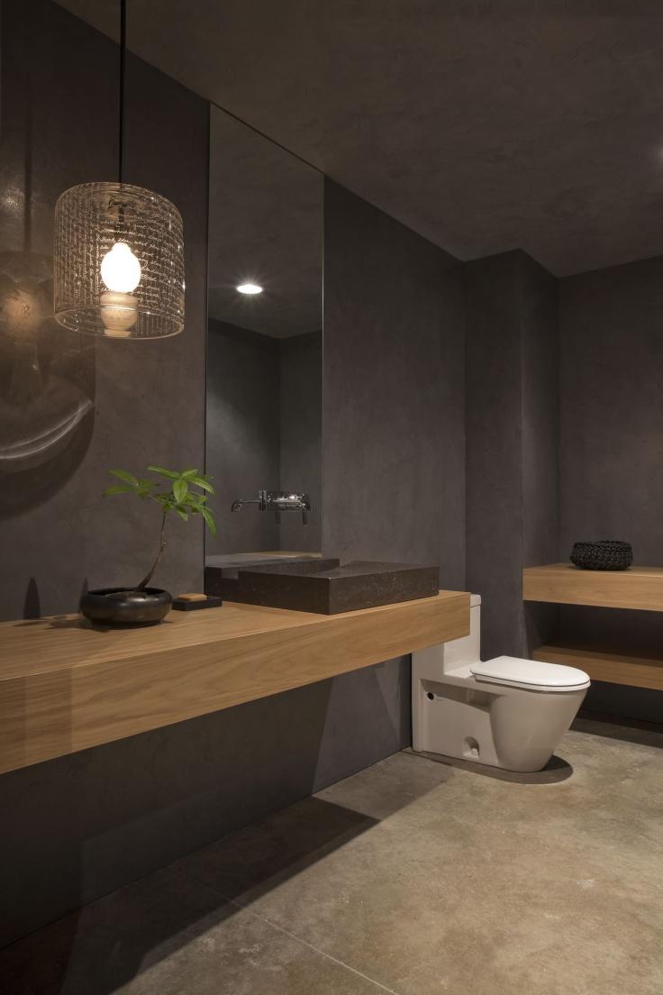 15 Gyönyörű kék fürdőszoba