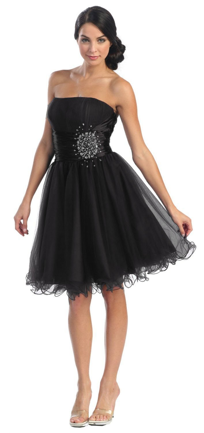 Teen Strapless Party Dresses 84