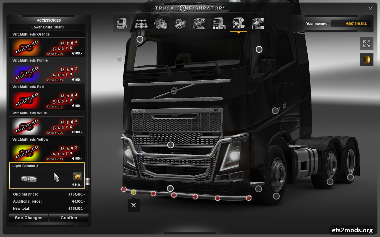 V2 1 mod fix by lopes for euro truck simulator 2 tested on 1 8 2 5