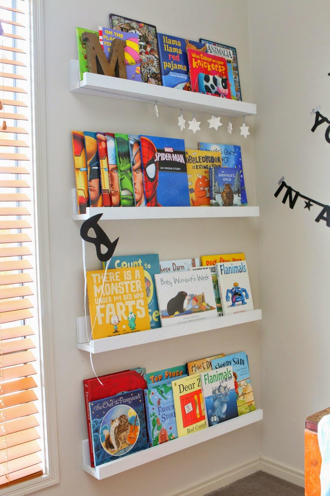 Ikea book ledge