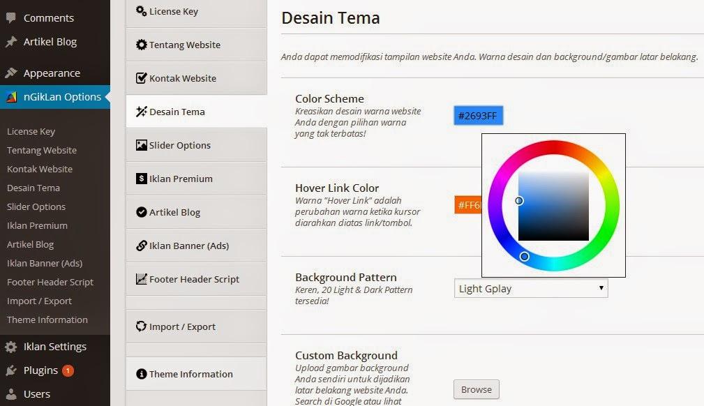 nGiklan Theme : Script Iklan Baris Wordpress Membership Terbaru 2014 Cuma 150rb