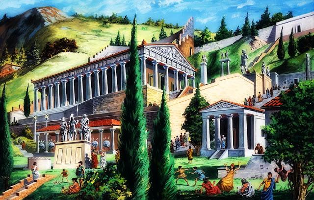 Ο χάλκινος 3ος ναός του Απόλλωνα στους Δελφούς και η εξαφάνισή του