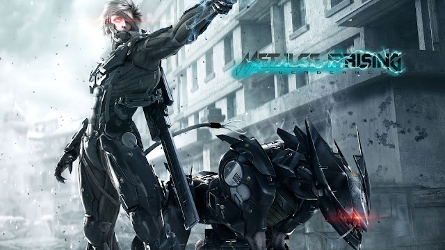 Metal Gear Rising Revengeance 4 HD Game Wallpaper