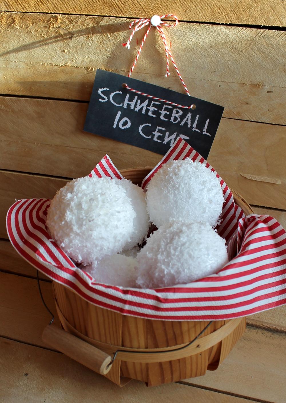 Grimmskram: Schneebälle DIY