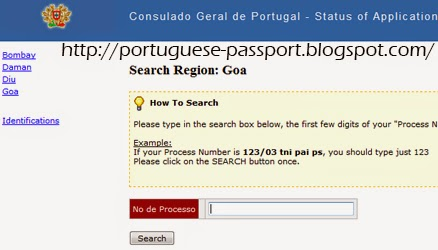 Track Portuguese Passport Application Status