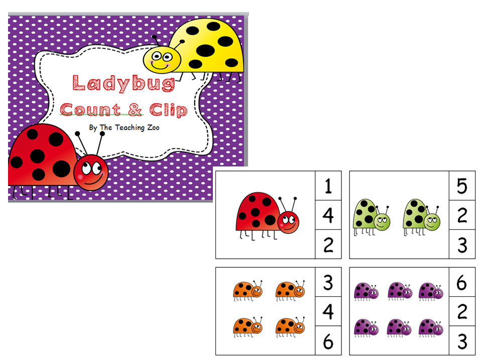 http://www.teacherspayteachers.com/Product/Ladybugs-Count-Clip-1-20-986928