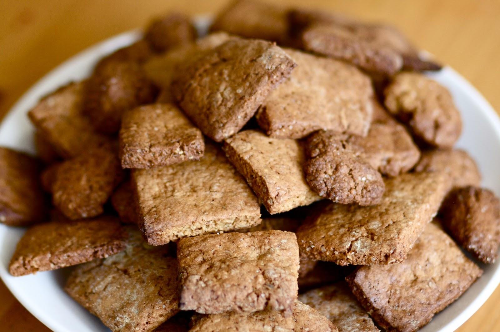 wegańskie kruche orkiszowe ciasteczka