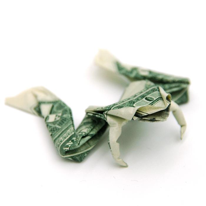 origami dollar bills artsdecoration