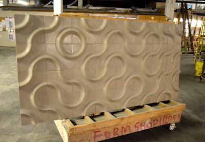 Large Format Polished Concrete Wall Tiles, DEX Industries