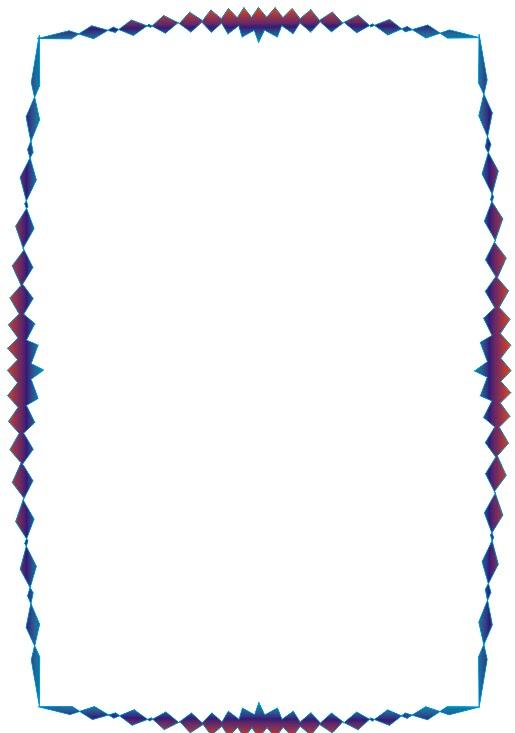 Bonitos bordes y marcos coloridos - Moda Para Gorditas