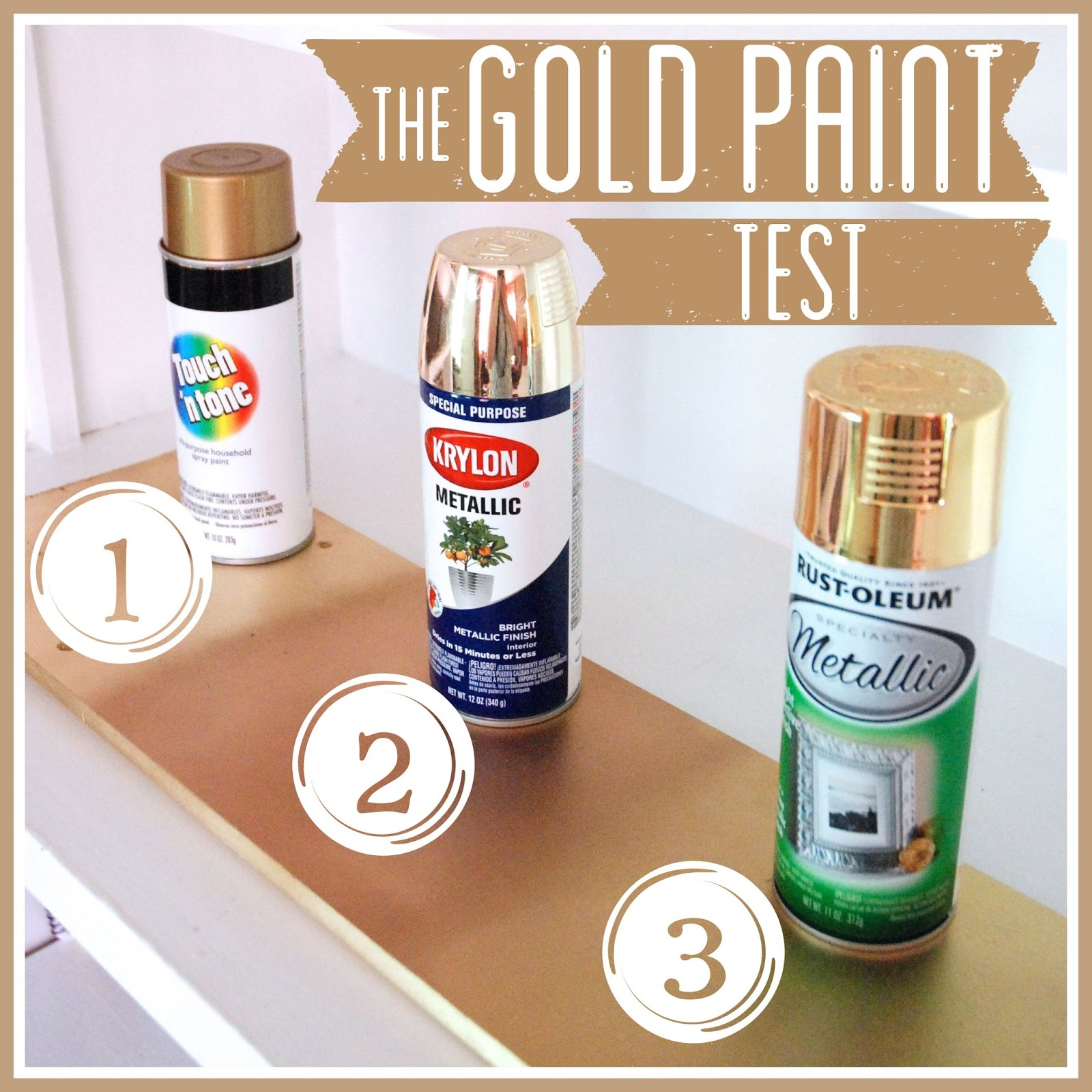 best gold spray paint. Black Bedroom Furniture Sets. Home Design Ideas