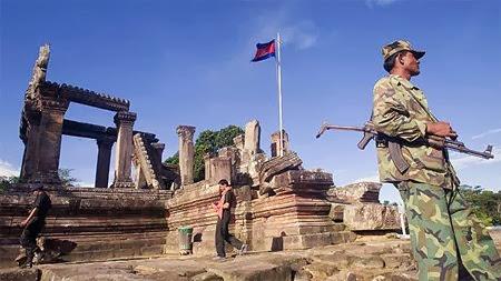 Thailand & Kamboja Rebutan Wilayah Candi Kuno Preah Vihear