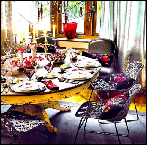 Trend Design Christmas Table Decoration Ideas Glamour Design