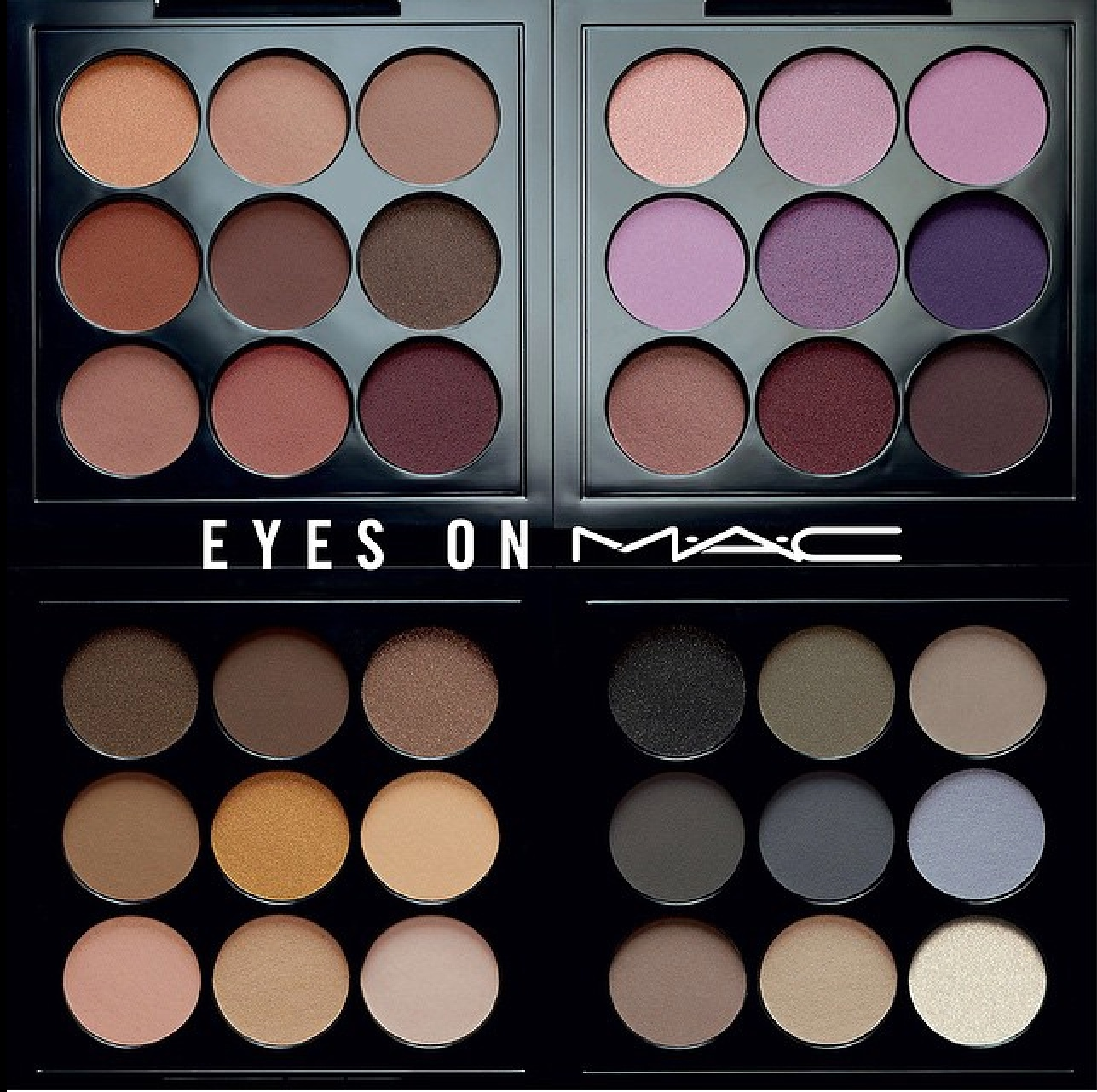 Diary Of A Trendaholic  Eyes On MAC Eye Shadow Palette Review
