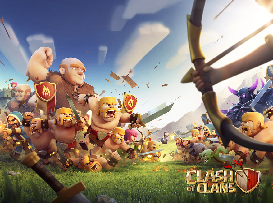 android, android game, google play, xbox, playstation, player, clash of clans