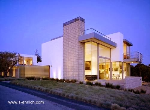 Residencia californiana estilo Contemporáneo