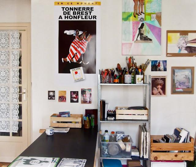 french living visite guid e d 39 un studio 100 fran ais nana toulouse. Black Bedroom Furniture Sets. Home Design Ideas