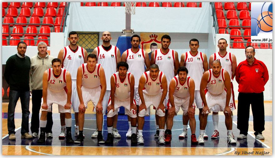 FIBA Asia Jordan national basketball team
