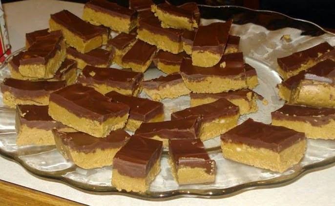 Best recipes in world: NO-BAKE PEANUT BUTTER BARS