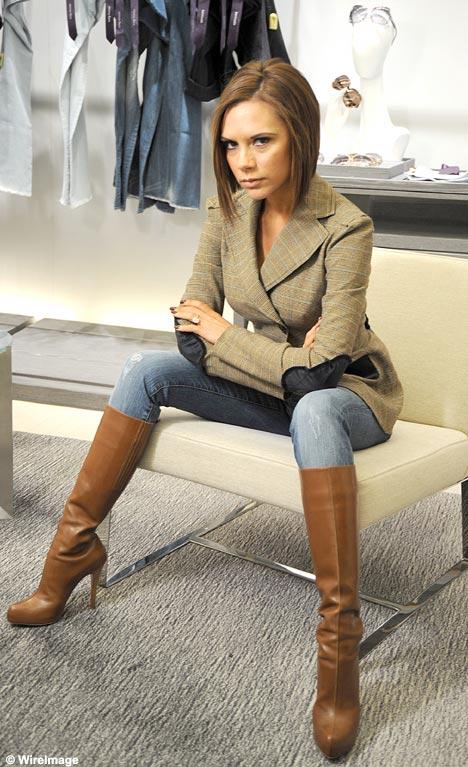 victoria beckam jeans: