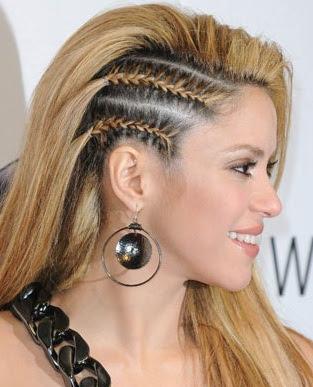 trenzas han marcado tendencia en los peinados juveniles 2012