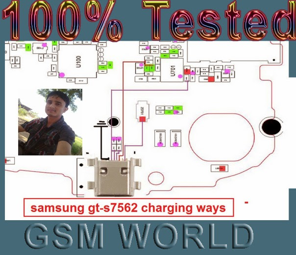 Slutions24  Samsung S7562 Full Usb  U0026 Charging Ways Jumper Solution