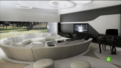 Christiano Ronaldo (CR7) Residence: Family Room