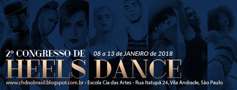 Congresso de Heels Dance no Brasil