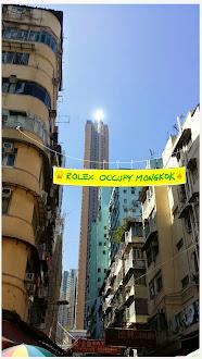 Rolex Occupy Nelson Street Mong Kok