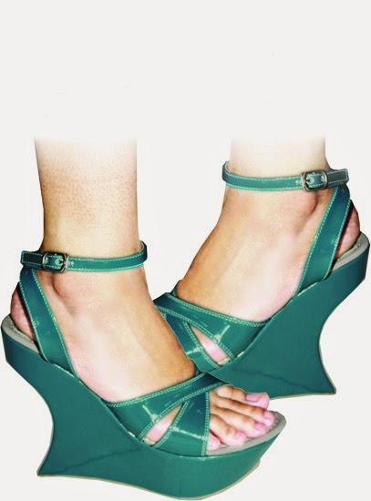 Sepatu Wanita manis model baji