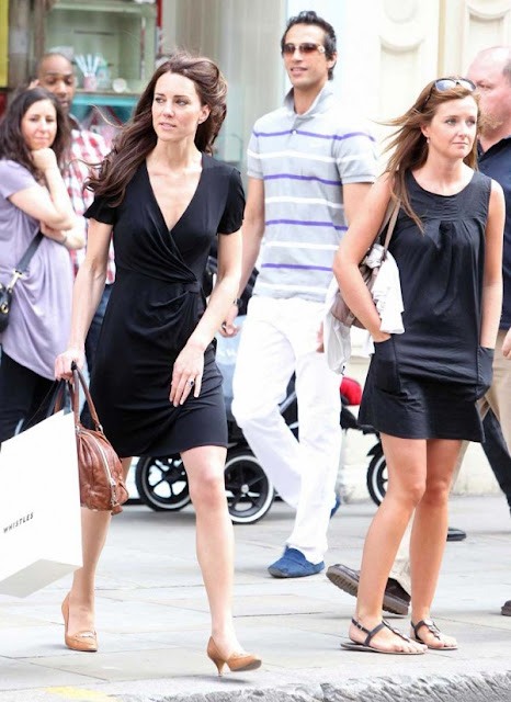 kate middleton latest hot sexy pics photos shopping black dress kings road london