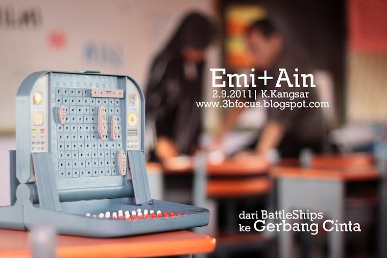 Dari BattleShips ke Gerbang Cinta | Hilmi+Ain 2.9.2011 | 10.9.2011