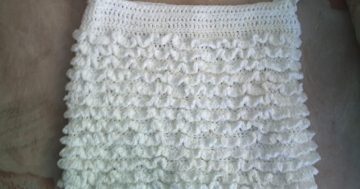 Knit Pattern Ruffle Bag : Crochet Addict UK: Ruffle Bag Free Pattern