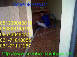 SEDOT WC BENOWO SURABAYA BARAT TLP 081217744287
