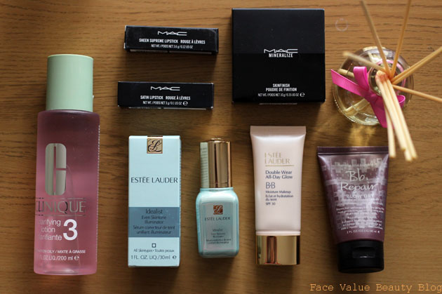 BACK TO BLOGGING! A Big Cosmetics Company Haul From Bicester Village