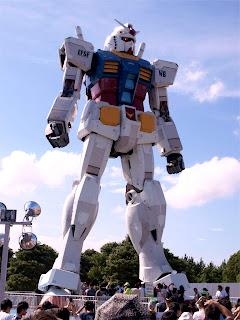 Estatua Gigante de Gundam