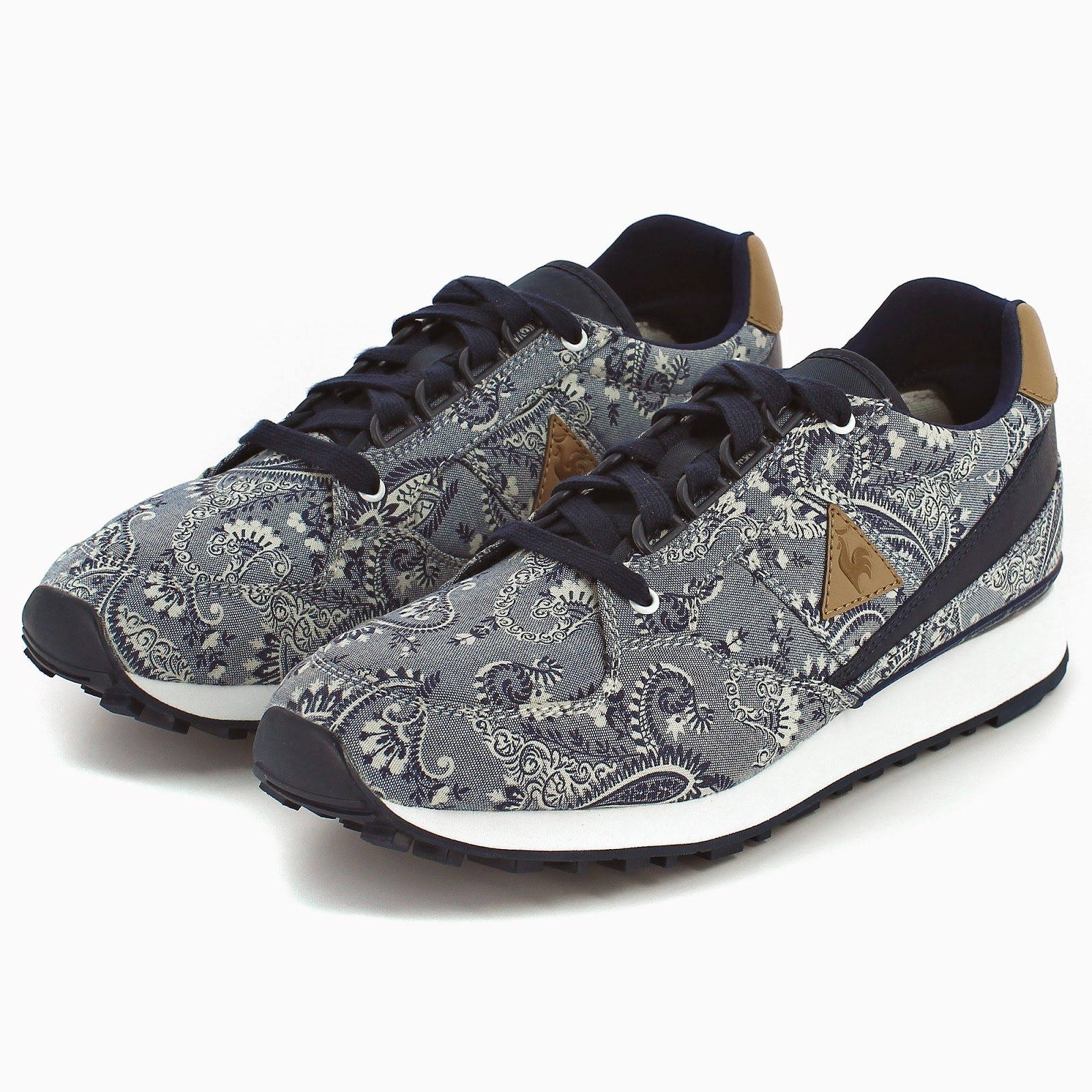 Le Coq Sportif, Liberty Arts Fabric, Eclat, Lagache, LCS R900, LCS R1400, sneakers, calzado, sportwear, sportstyle, Suits and Shirts,