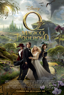 Oz: Mágico e Poderoso   BRRip AVI + RMVB Legendado