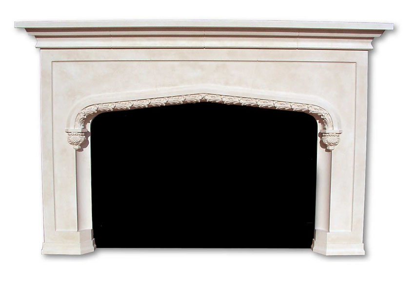 Tudor style fireplaces english gothic home krafts for Tudor style fireplace