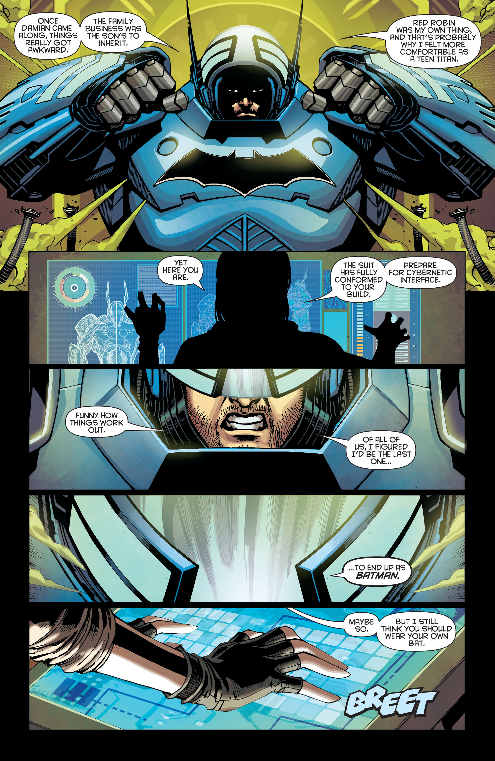 Batman Beyond (2015) Issue #5 #5 - English 9