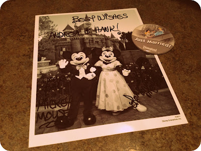 You can mail your wedding invitation to Mickey Minnie Mouse and they will