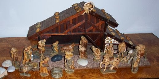 nativity scene german