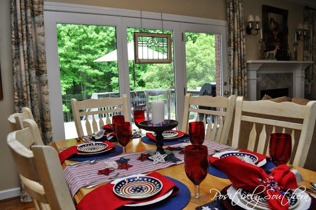 Tablescape Memorial Day