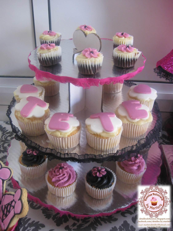 Detalles deliciosos by mary tere mesa dulce para for Decoracion en cupcakes
