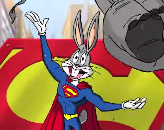 super rabbit,bugs bunny