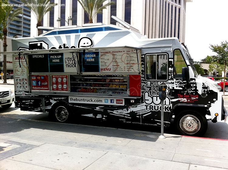 brand new food truck the bun truck vegas and food. Black Bedroom Furniture Sets. Home Design Ideas