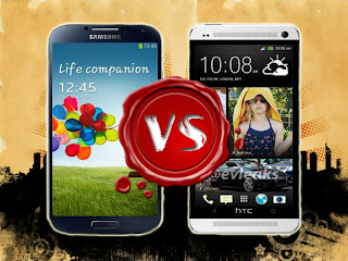 Which would be The Best Samsung Galaxy S4 vs HTC One?