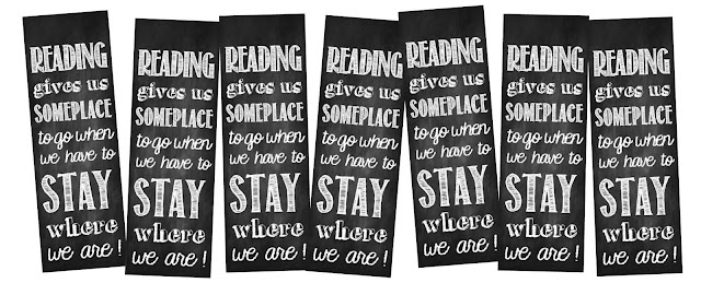 reading bookmarks printable